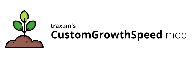 banner image for the Custom Growth Speed mod
