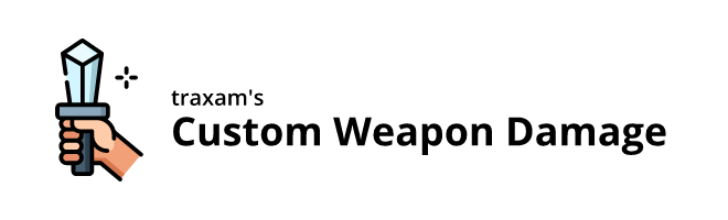 banner image for the Custom Weapon Damage mod