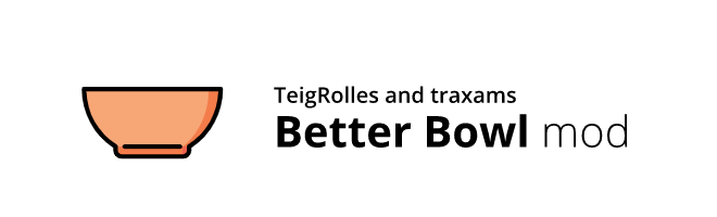 banner image for the BetterBowl mod